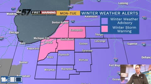 Major early season winter storm begins tonight